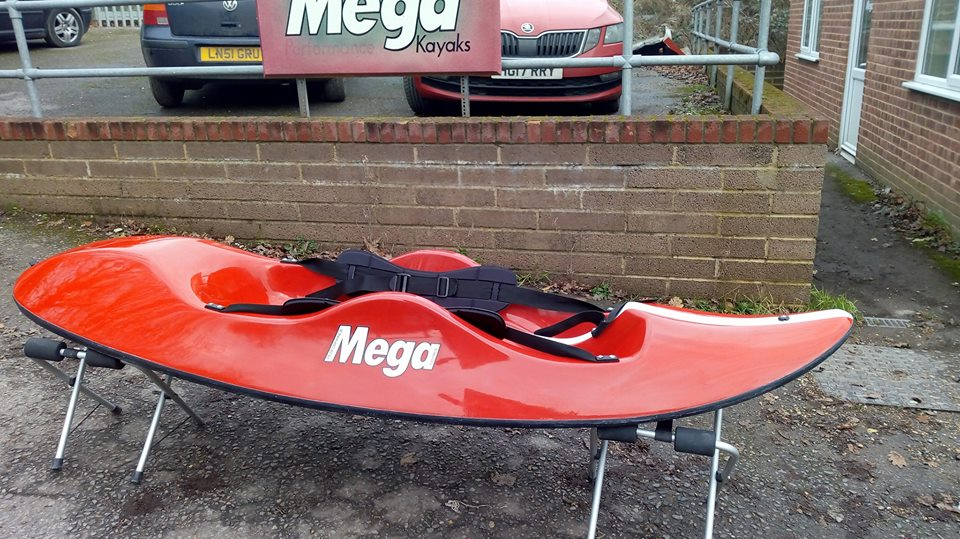 Sit on top surf kayak. Mega Surf on Top