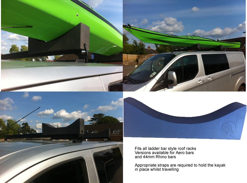 Mega Kayak roof rack holder, Canoe roof rack holder