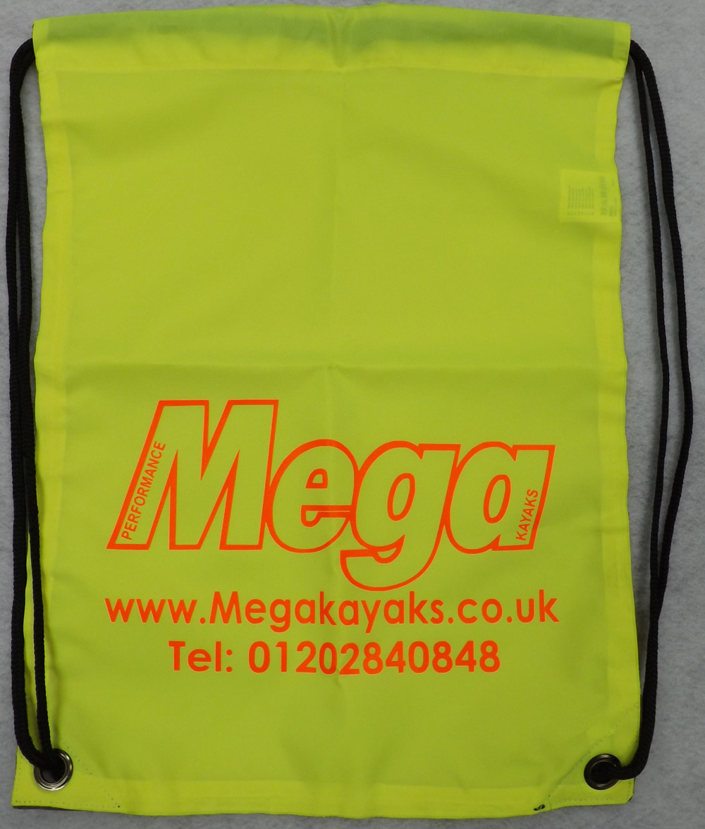 Mega drawstring bag
