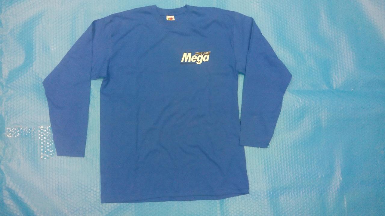 Mega long sleeve T shirt
